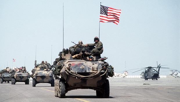 US troops in Kuwait