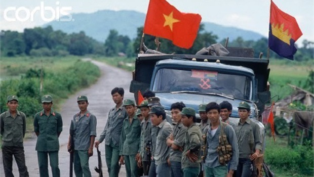 Vietnam troops in Cambodia