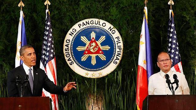 Obama Aquino 2014