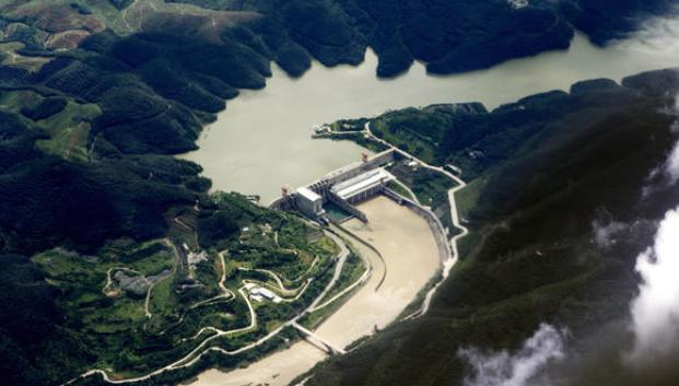 CHINA YUNNAN JINGHONG DAM ON LANCANG RIVER