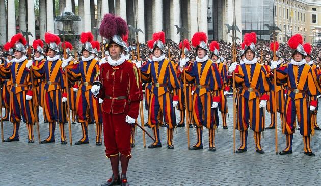 Những điều ít biết về đội vệ binh Thụy Sĩ của Tòa Thánh Vatican