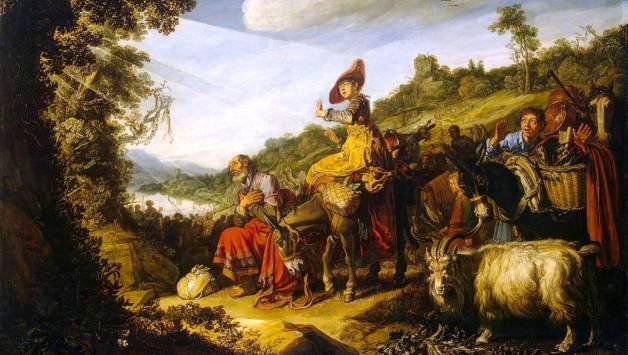Lastman,_Pieter_-_Abraham's_Journey_to_Canaan_-_1614