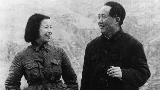 Jiang Qing and Mao