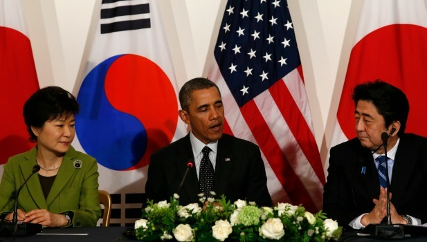 park-obama-abe-at-the-hague