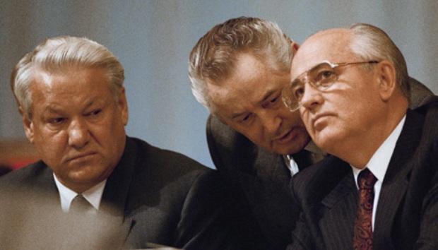 yeltsin-gorbachev