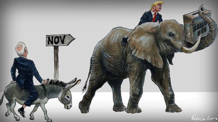 Đảng Dân chủ không nên xem thường khả năng đắc cử của Trump